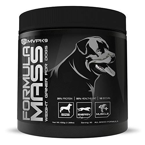 Top 10 best selling list for mvp k9 supplements formula mass weight gainer for dogs