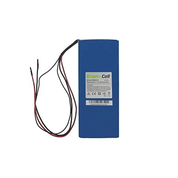 410Wxd2RIaL. SS600  - Green Cell E-Bike Akku 36V Batterie für Elektrofahrrad Fahrrad Batterie