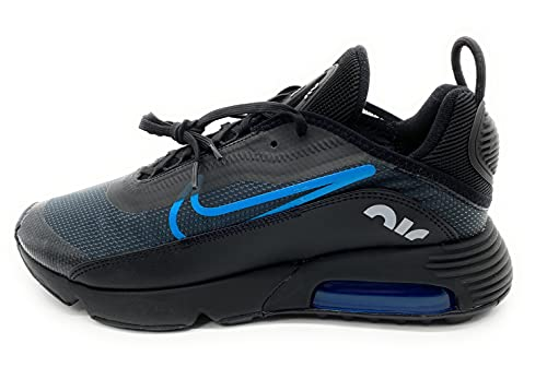 Nike Air Max 2090 Be True Herren Running Trainers Cz4090 Sneakers, Black Laser Blue Wolf Grey 001, 47.5 EU