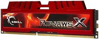 G.Skill F3-12800CL10S-8GBXL Memoria RAM de 8 GB (DDR3, 1600 MHz), rojo
