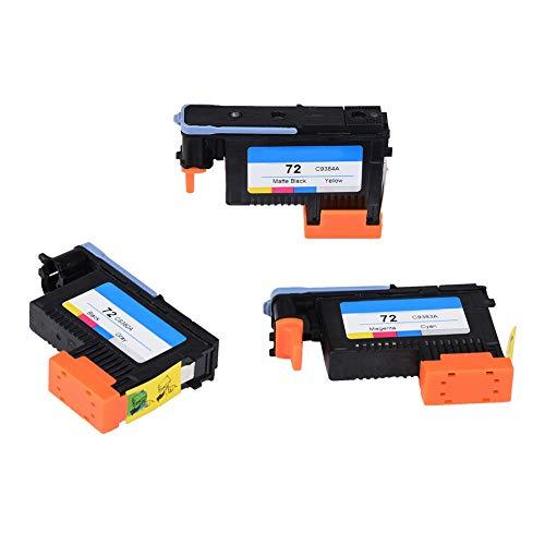 Vervangende printkop voor HP72 T1100 T1200 T610 T790-serie, Professionele printkop Printkop Hoge kwaliteit voor printer (C9384A + C9383A + C9380A)