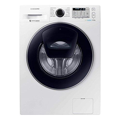 Samsung WW80K5413UW Samsung WW80K5413UW AddWash Washing Machine with Ecobubble, 8KG