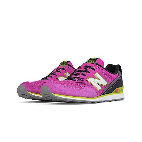 New Balance Damen WR996 Laufschuhe, Pink (Pink/Black), 40.5 EU
