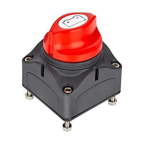 Piaopiao Interruptor de alimentación de la batería del coche 12V / 24V Baterías extraíbles de las baterías de las baterías de la marina Desconecte de la desconexión del corte del interruptor de muerte