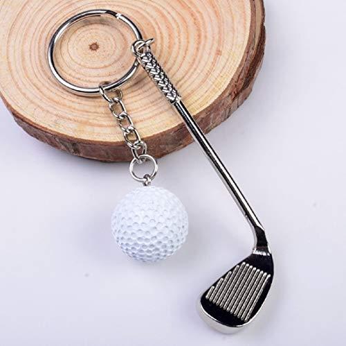 LL-Golf® Golf Schlüsselanhänger mit Golfschläger und Golfball/Golfgeschenk/Geschenk/Schlüssel Anhänger - 2