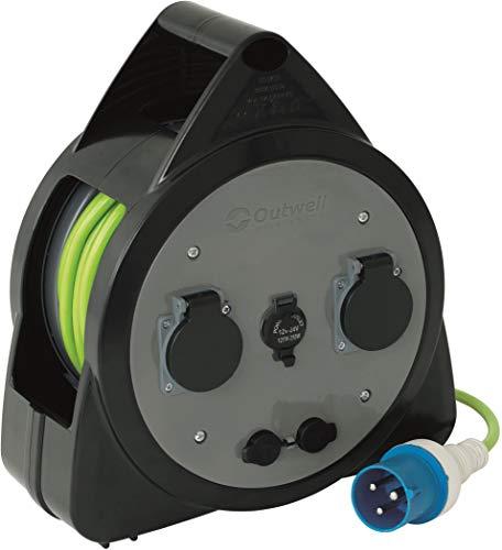 Outwell Cetus Netzkabeltrommel 2020 Adapter Kabel