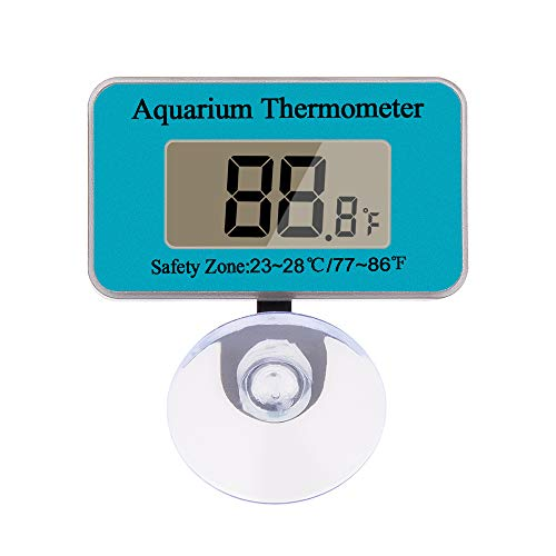 DaToo Aquarium Thermometer With Sucker, Second Generation(Update), 2 Pack, 1 Yr Warranty