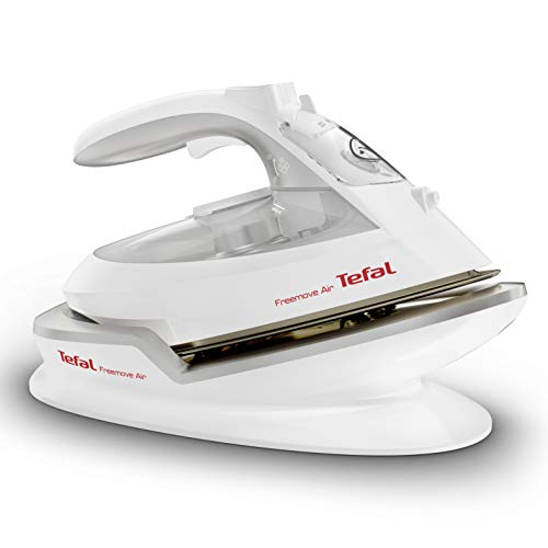 Tefal FV6550 Freemove Cordless Steam Iron, 2400 W, White and Silver