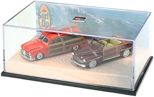Hot Wheels Surf's Up Limited Edition Sammlerset 1 64 Scale 2-Pack  '49 Ford Woody & '46 Ford Ragtop