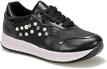 91.313369.Z Siyah Kadın Ayakkabı