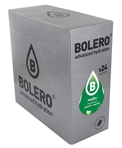 Bolero Bebida Instantánea Sin Azúcar, Sabor Mojito - Paquete de 24 x 9 gramos - Total 216 gramos