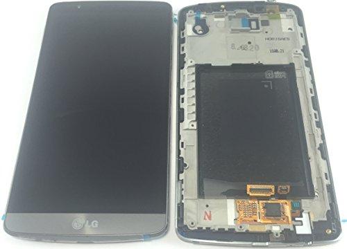LG G3d855LCD + Touch Screen Digitizer Komplett Front Cover mit Bilderrahmen. 100% original, Brand Neu Ersatz LCD-Bildschirm Reparatur Teil (nicht kompatibel mit die kleineren G3S Version) UK Lieferant, von Saphirschwarz der Britischen Original Teile Specialist.