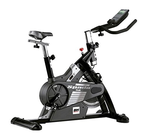 BH Fitness - Bicicleta Indoor Spada Dual + Dual Kit Be