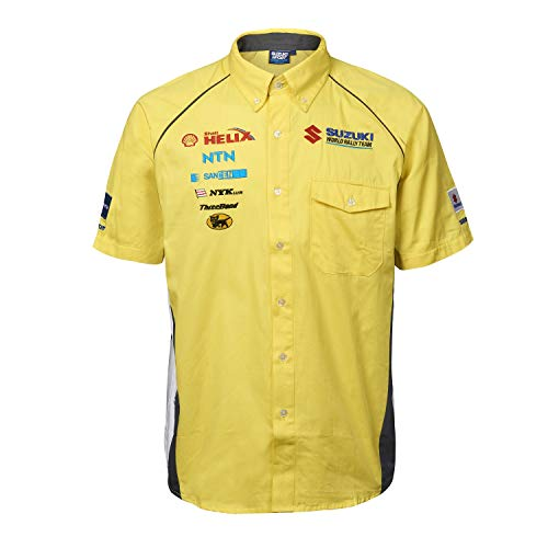 Desafío Suzuki Sport World Rally Team Motorsport camiseta de manga corta Race