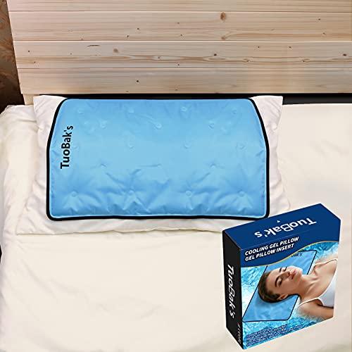 Almohada de Enfriamiento,Almohada Refrescante,Almohada Gel,Almohada de Gel Fresco para Proporcionar un Mejor Descanso, aliviar la migraña, menopausia, Sudores nocturnos y sofocos