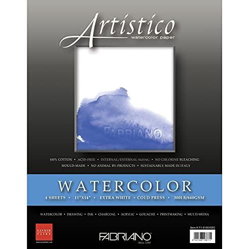 Fabriano Artistico Paper Pad, White