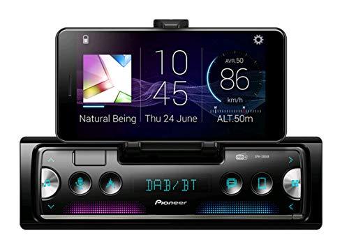 Pioneer SPH-20DAB mit Antenne inklusive 1-DIN Receiver der neuesten Generation mit DAB/DAB+ Digital Radio, Bluetooth, USB und Spotify Verbindet sich mit iPhone & Android-Geräten