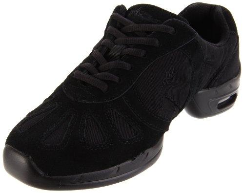 Sansha Hi-Step Dance Sneaker,Black,8 Sansha (7 M US Women's)