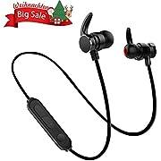 Bluetooth Kopfhörer in Ear V4.2, Magnetisches Headset/Stereo Sport Wireless Ohrhörer Bluetooth-Headset, 7-Stunden-Spielzeit/eingebautes Mikrofon für iPhone, Huawei, Samsung