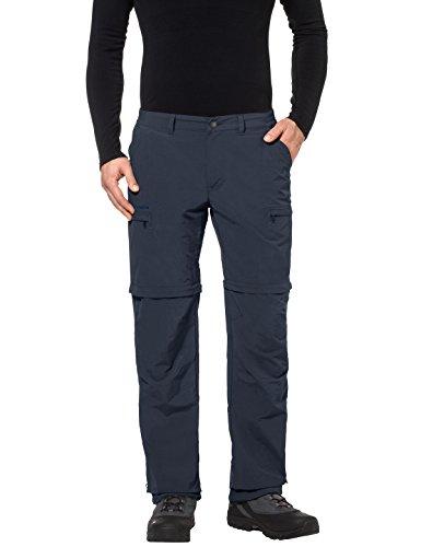 VAUDE Men's Pantalon Femme Farley ZO IV Pantalon pour Femme, Homme, Men's Farley ZO Pants IV, Eclipse, 46/Long