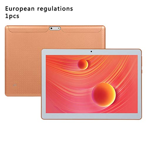 10 Inch Tablet Pc 3G Telefoon Duall Bel Simkaart Android 7.0 Quad Core Pc Gold EU
