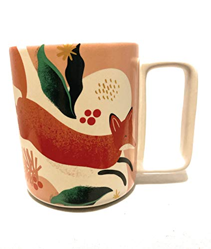 Starbucks Red Fox Limited Edition 2019 Holiday 12 Oz Coffee Mug