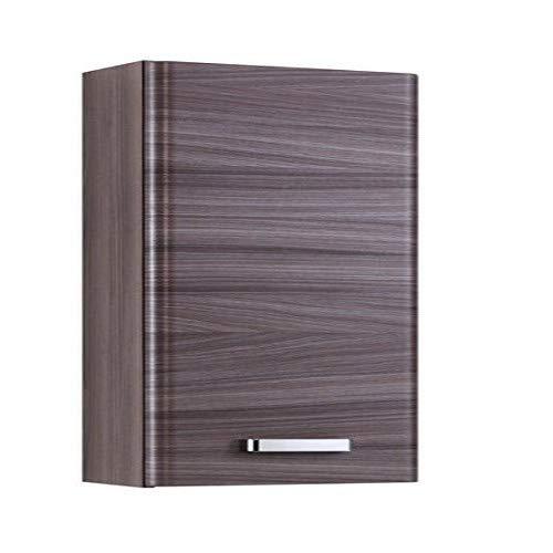 Held Möbel 012.3052 Phoenix Hängeschrank , 1 türig / 2 Einlegeböden / 35 x 69 x 20 cm / eiche-dunkel