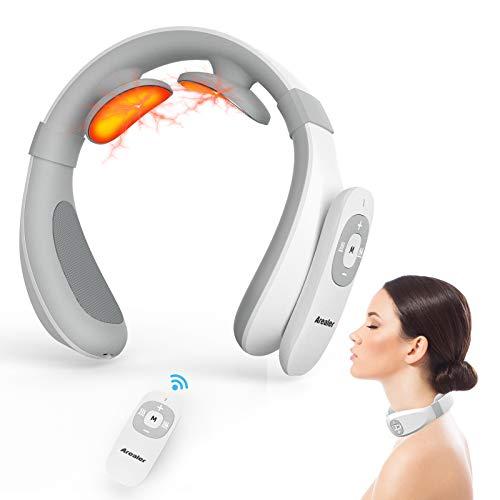 Neck Relax Arealer Nackenmassage Geräte 5 Modi 15 Gänge Shiatsu...