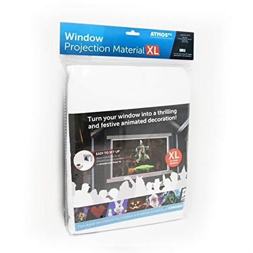 AtmosFX, Fensterprojektionsmaterial, Größe XL