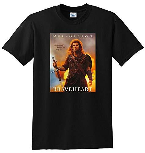 Braveheart T Shirt Mel Gibson Movie bluray DVD Cover Tee SMALL MEDIUM L XL