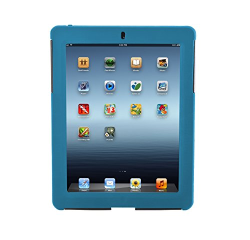 Targus SafePort Rugged Case, Everyday Protection for iPad 2, 3, and 4, Blue (THD04502US)