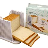 Bread Slicer, Bread Slicing Cutting Guide for Homemade Bread - 16 X 15 X 14.5cm
