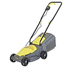 The Challenge 31cm is a compact, cordless rotary lawnmower designed for small lawns. Cordless power lets you cut anywhere without the danger of cutting the cable. The motor and carbon steel blade combine to effortlessly cut through tough dense grass....