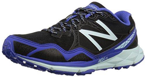 New Balance 910v3 Trail Gore Tex, Zapatillas de Running para Asfalto para Mujer, Multicolor (Black/Blue), 40.5 EU