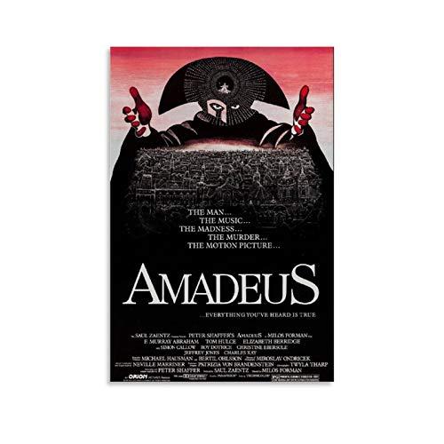 caonidaye Amadeus Poster numérique sur toile pour chambre de famille moderne 40 x 60 cm