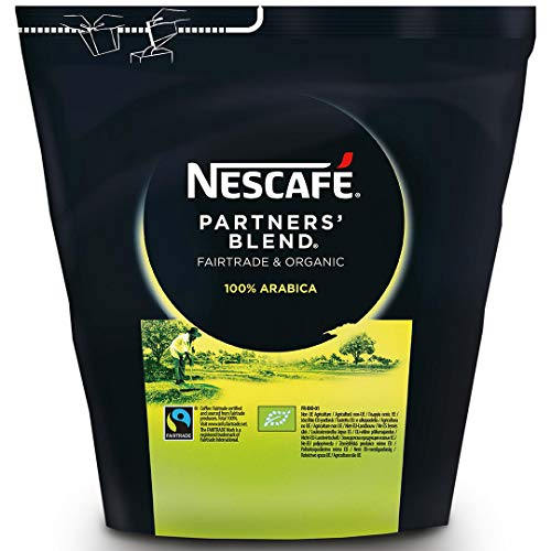 NESCAFÉ Partners´ Blend, Bio Kaffee fairtrade, löslicher Kaffee gefriergetrocknet, 1er Pack (1 x 250g)