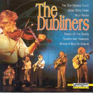 The Old Orange Flute, Home Boys Home, Wild Rover, Banks of the Roses, Trams and Hawkers, Within a Mile of Dublin