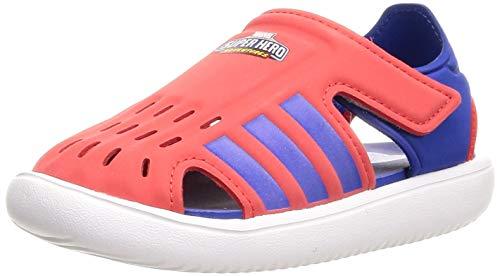 adidas Water Sandal C, Sandalias Deportivas, Rojint/AZUREA/FTWBLA, 31 EU