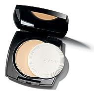 Avon True Colour Flawless Mattifying Pressed Powder Neutral light medium