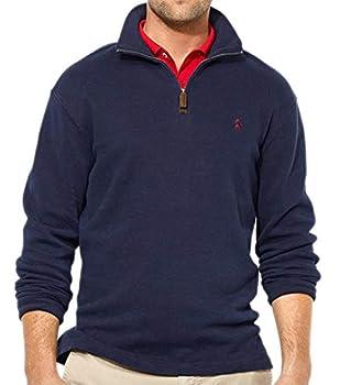 Polo Ralph Lauren Men s French-Rib Half-Zip Pullover Sweater Navy  M