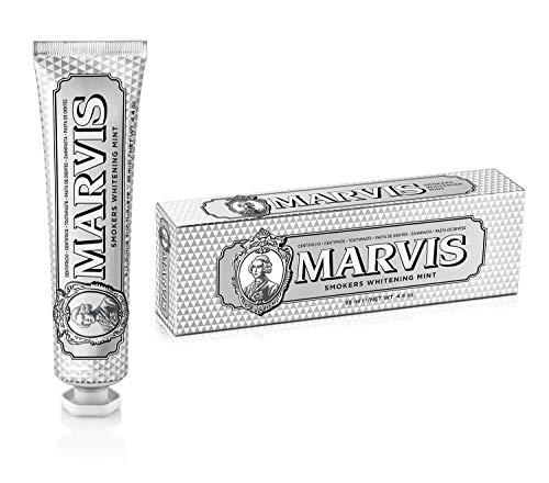 MARVIS® Smokers Whitening Mint 85 ml | Zahncreme für natürlich weiße Zähne | intensive und anhaltende Frische | kühle Minze