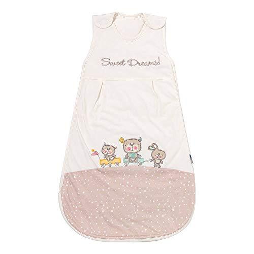 Schlummersack Babyschlafsack für Jungen und Mädchen Frühjahr/Sommer 1.0 Tog - Sweet Dreams -56 cm/Neugeborene