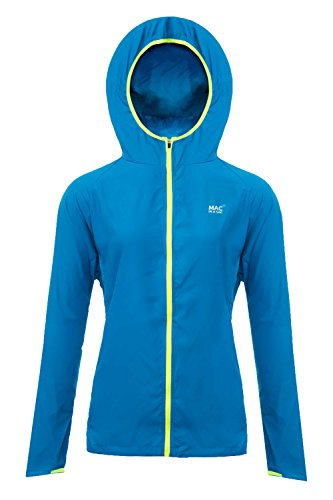Mac in a Sac® - Veste Ultra Respirante - Unisexe - Repliable - Bleu Flamme - XXL