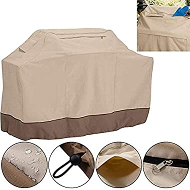 60  Waterproof Outdoor Patio Barbeque Grill Oven Cover Furniture Protection New