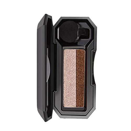 Lidschatten Palette NudetöNe,Zweifarbig Matt Lidschattenpulver, Kosmetik Makeup Perlglanz Einzelne Bunt Glitzer Eyeshadow