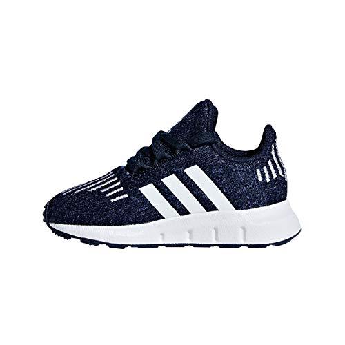 adidas Swift Run I I, Pantofole Unisex-Bimbi, Blu (Maruni/Ftwbla/Azumis 000) 19 EU
