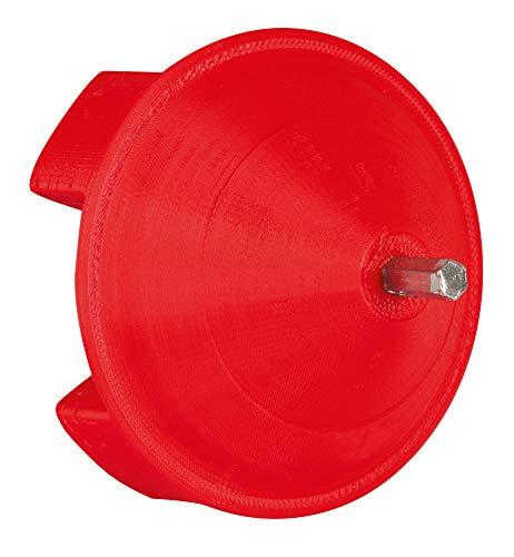 Aufrolladapter Easy-Drill - für Weidezaunhaspel, Zaunhaspeln - Auf- und Abrollen von Leitermaterial - Zeit und Kraftsparend