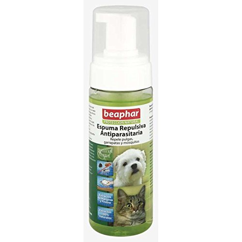 Beaphar BEA10613 Espuma Repulsiva Antiparasitaria - 150 ml