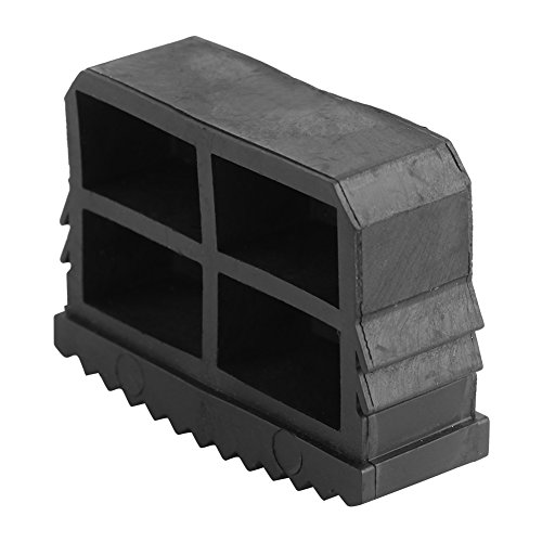 Ladder Sokken - Rubber Anti-lip Ladder Voet Stopper Vervangende Beenhoezen Extension Ladder Veiligheid Apparaat Zwart, 2 Stks