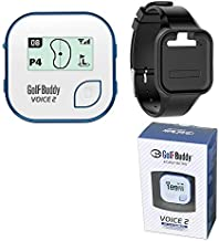 $97 » BUNDLE: 2016 Golf Buddy Voice 2 Golfbuddy Voice2 Easy-To-Use Talking GPS + Golf Buddy Wristband (White)